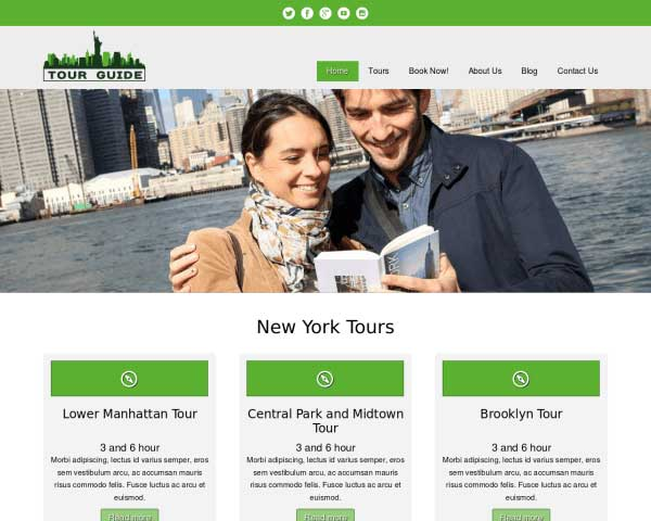 Tour Guide WordPress Theme thumbnail