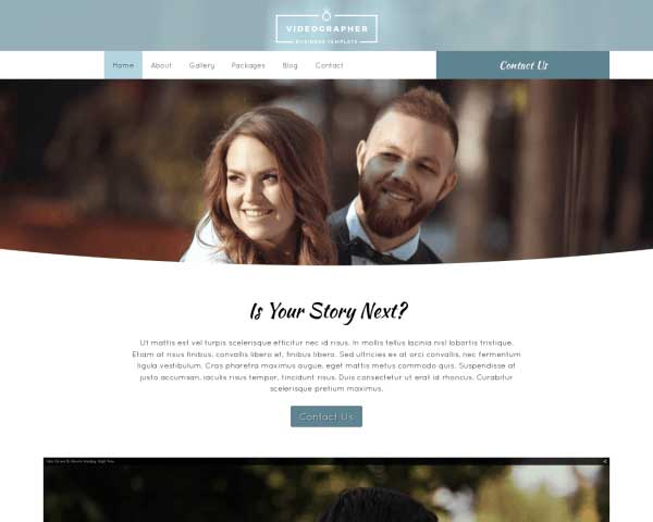 Videograaf WordPress Theme thumbnail