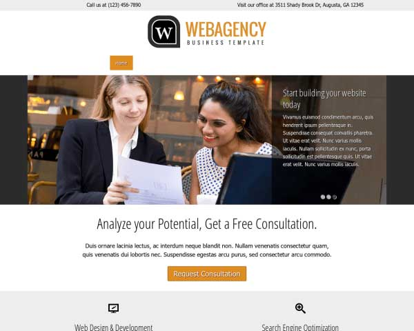 Webbureau WordPress Theme thumbnail