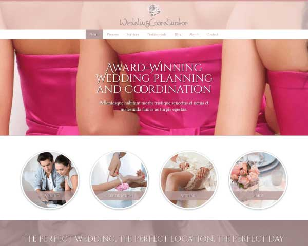 Wedding Coordinator WordPress Theme thumbnail