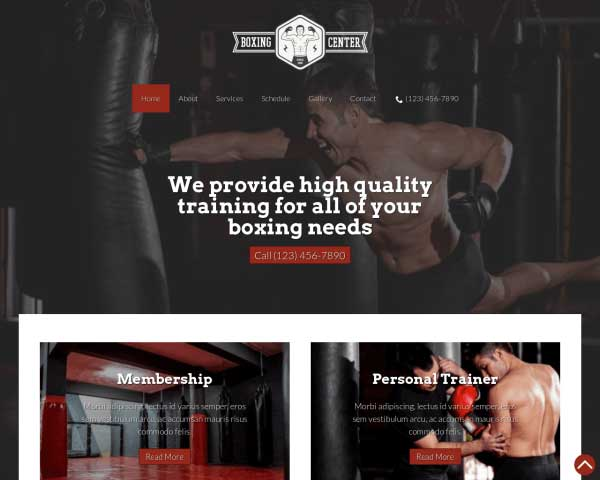 Boxing WordPress Theme thumbnail