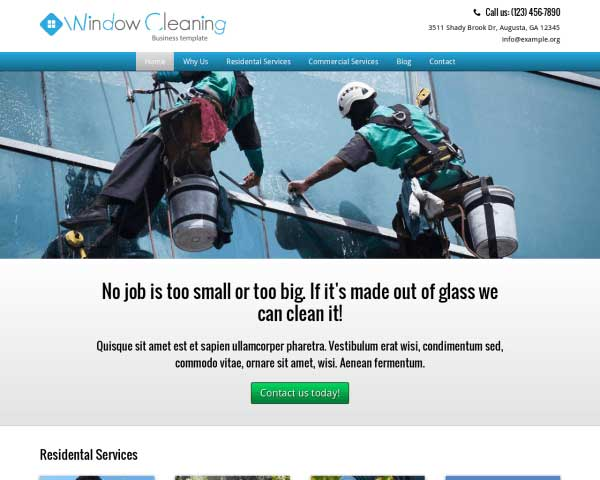 Window Cleaning WordPress Theme thumbnail