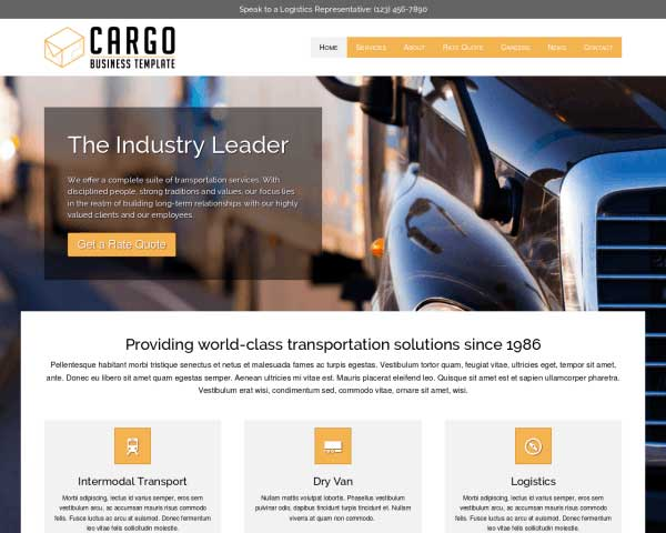 Cargo WordPress Theme thumbnail