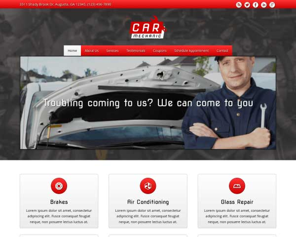 Car Mechanic WordPress Theme thumbnail