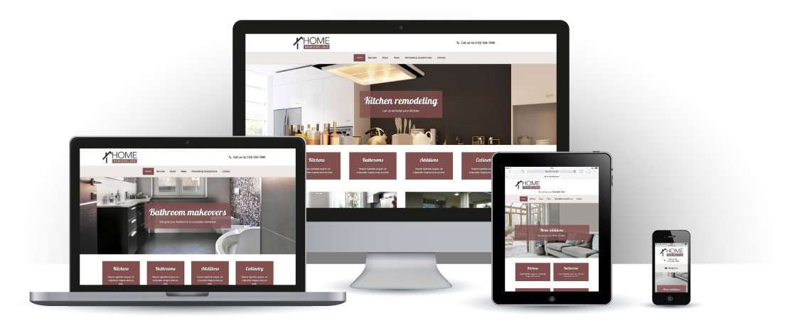 mobile responsive Remodeling WordPress Theme