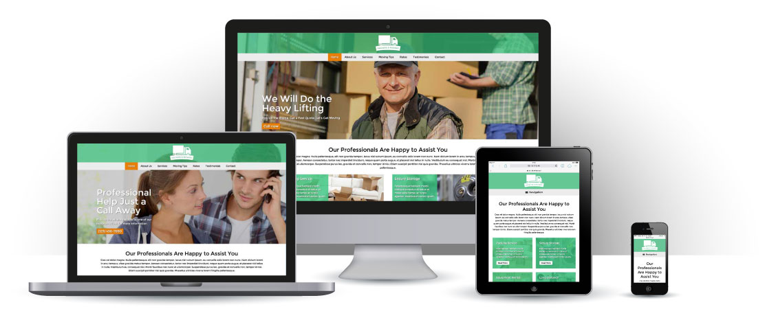 mobile responsive Packers And Movers WordPress Theme