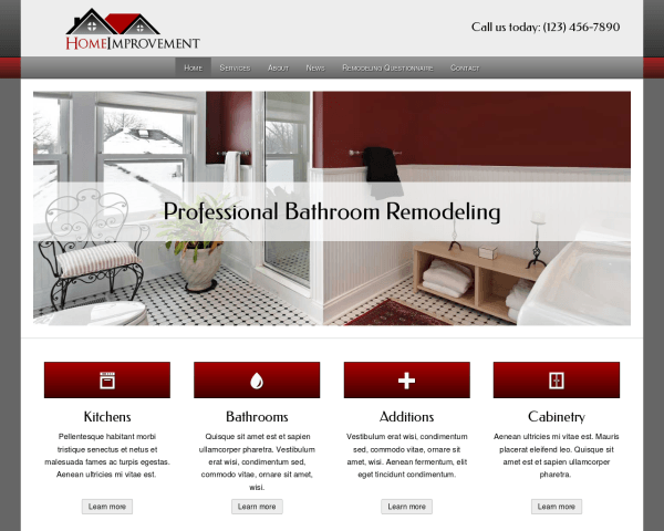 home improvement wordpress theme