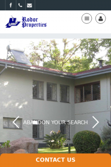 Mobile screenshot of www.rodorproperties.co.zw