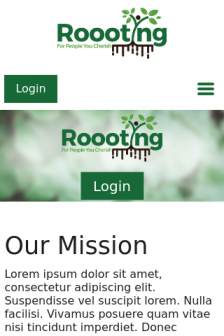 Mobile screenshot of roooting.softwaresolutions.website