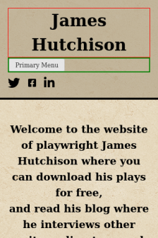 Mobile screenshot of jameshutchison.ca