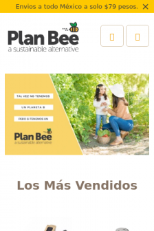 Mobile screenshot of planbee.mx