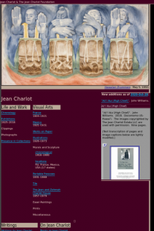 Mobile screenshot of jeancharlot.org
