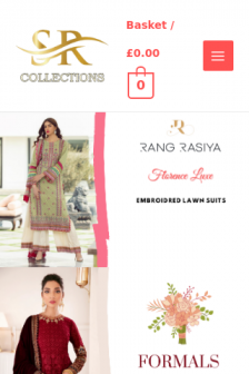 Mobile screenshot of srcollections.co.uk