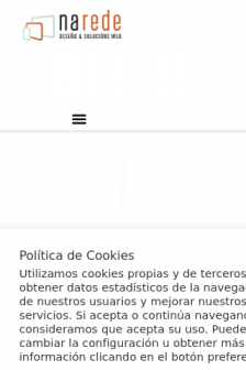 Mobile screenshot of www.narede.es