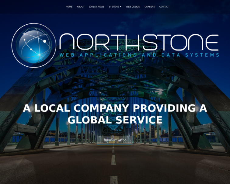 Screenshot of northstonesystems.co.uk