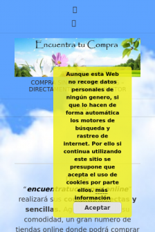 Mobile screenshot of encuentratucompra.online