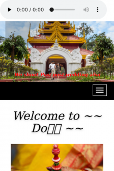 Mobile screenshot of www.doliphotography.in