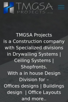 Mobile screenshot of www.tmgsa.co.za