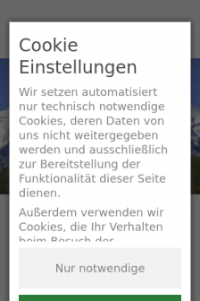 Mobile screenshot of www.nowak-ag.de