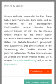 Mobile screenshot of www.gebaeude-ueberwachung.de