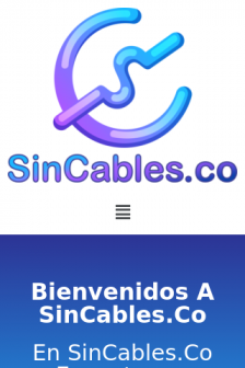 Mobile screenshot of sincables.co