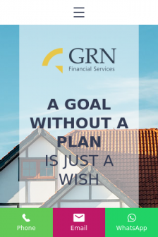 Mobile screenshot of www.grnfinancialservices.co.uk