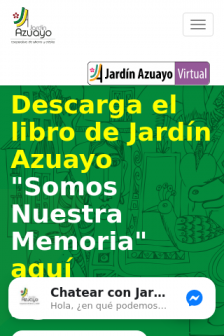 Mobile screenshot of www.jardinazuayo.fin.ec
