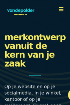 Mobile screenshot of vandepolder.studio