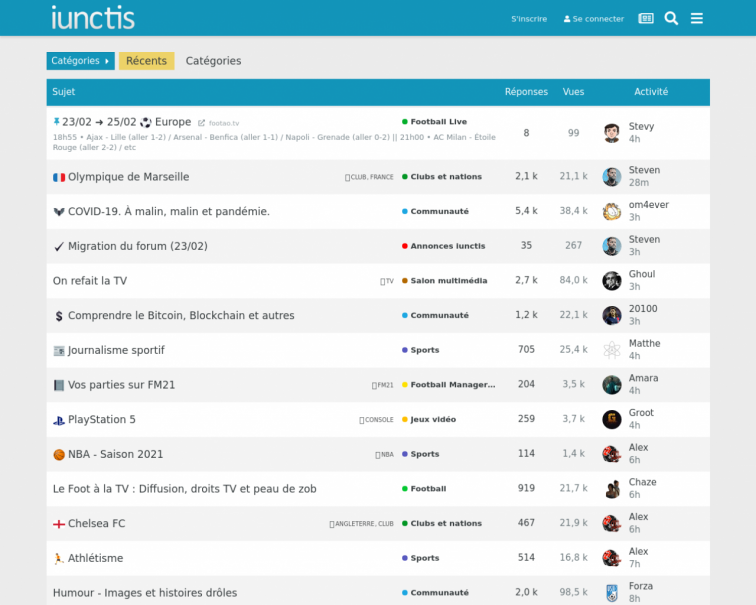 Screenshot of iunctis.fr