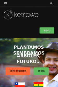 Mobile screenshot of www.ketrawe.org