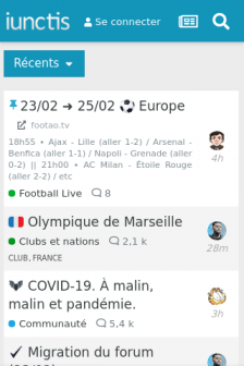 Mobile screenshot of iunctis.fr