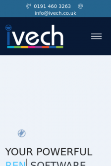 Mobile screenshot of www.ivech.co.uk