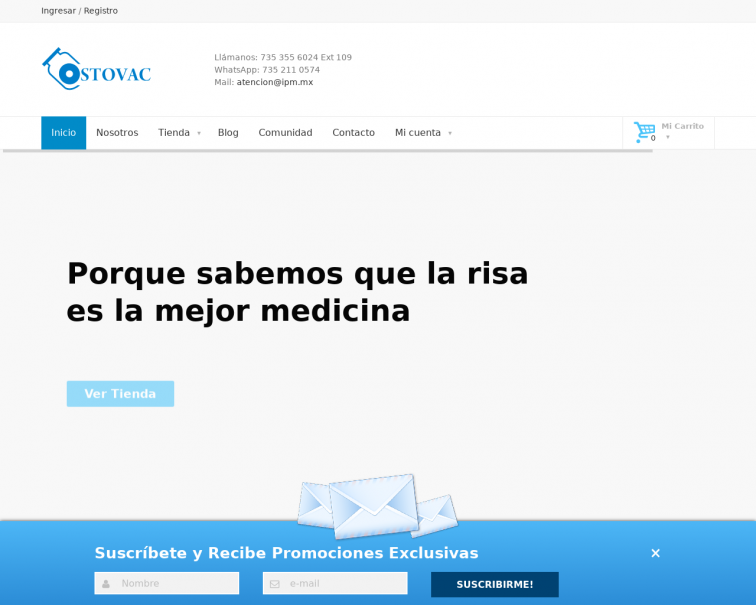 Screenshot of colostomia.tienda
