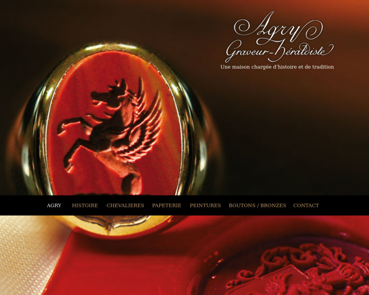 Screenshot of agry.fr