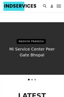 Mobile screenshot of indservices.in