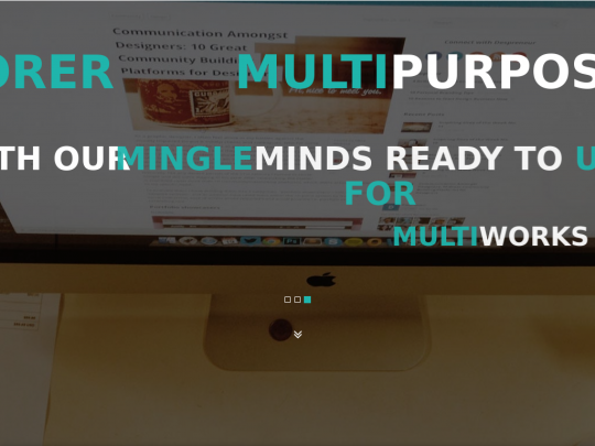 Tablet screenshot of www.mingleminds.in