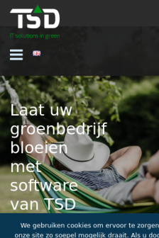 Mobile screenshot of www.tsdtest.nl