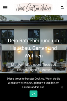 Mobile screenshot of hausgartenwohnen.de