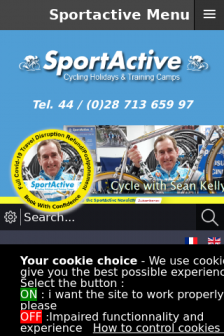 Mobile screenshot of sportactive.net
