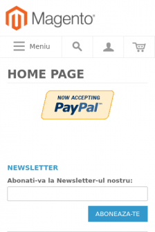 Mobile screenshot of www.orby.ro