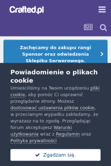 Mobile screenshot of crafted.pl