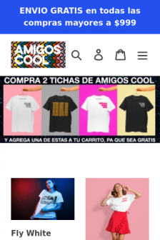 Mobile screenshot of amigoscool.casa