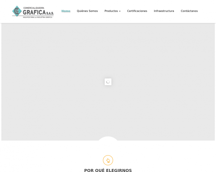 Screenshot of www.cgrafica.net