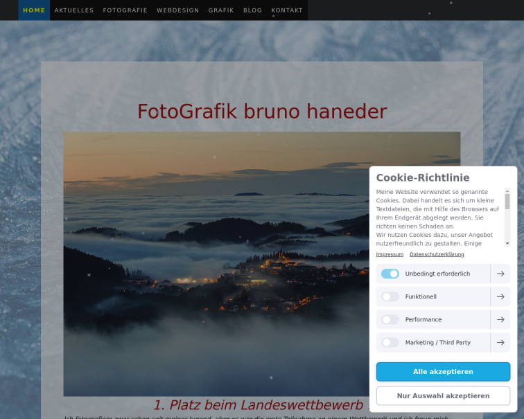 Screenshot of www.fotografik.at