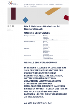 Mobile screenshot of www.r-4.ch