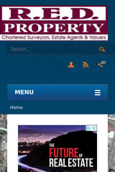 Mobile screenshot of www.redproperty.co.zw