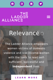Mobile screenshot of ladderalliance.org