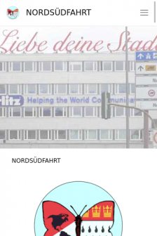 Mobile screenshot of www.nordsuedfahrt.de