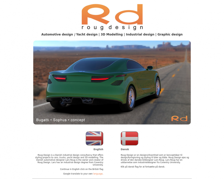 Screenshot of r-design.dk
