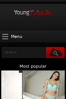 Mobile screenshot of youngtube.in